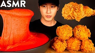 ASMR HOT CHEETOS STRETCHY CHEESE & KFC FRIED CHICKEN MUKBANG (No Talking) COOKING & EATING SOUNDS