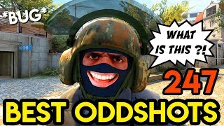 New BUG/GLITCH in CS:GO ?! - BEST ODDSHOTS #247 (+Giveaway)