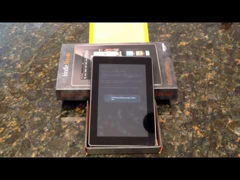 """Amazon Kindle Fire HD 7"""" (2013): Setup"""