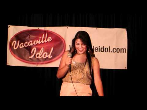 Sabreena Venegas - Vacaville Idol 2012 Audition