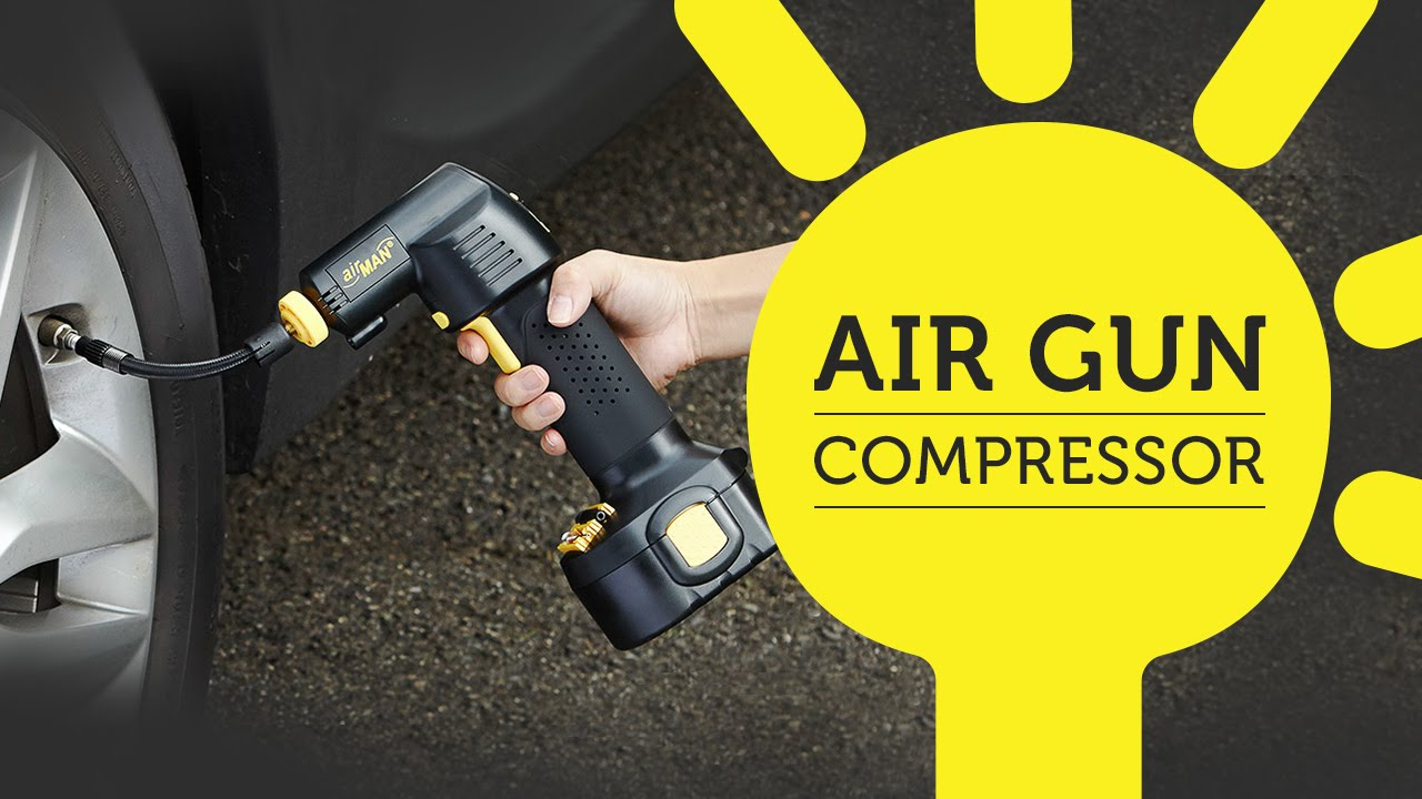 Quickly Inflate Tires And More With Airgun Compressor Youtube