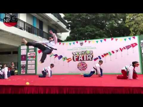 Kowloon Junior School Fair Taekwondo performance(March 18, 2017)