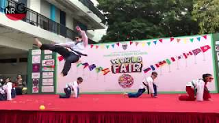 Kowloon Junior School Fair Taekwondo performance(M