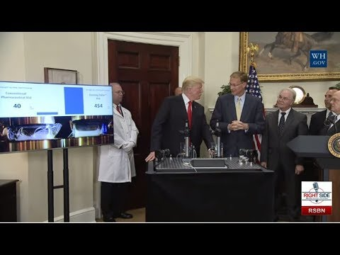 President Trump Makes an Announcement on Pharmaceutical Glass Packaging Initiative