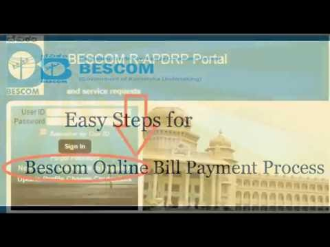 How To Pay Bescom Online Bill Payment