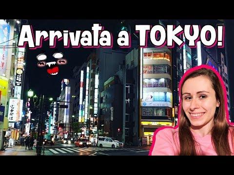 Sono arrivata in Giappone! Vlog