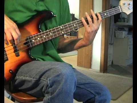 Billy Ocean - When The Going Gets Tough - Bass Cover - YouTube