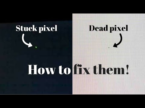 🔆 How to fix stuck or dead pixels on some laptop and desktop displays 🔅