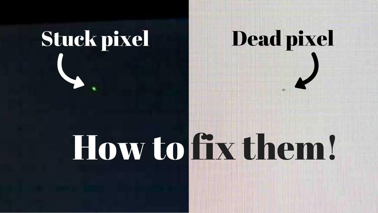 how to fix stuck or dead pixels on some laptop and desktop displays youtube. Black Bedroom Furniture Sets. Home Design Ideas