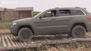 Jeep Grand Cherokee 2014 ... off-road driving test