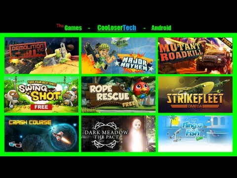 #139 Top 10 Best GAMES on Nexus 7 Android Tablet + more - Addictive must play =]