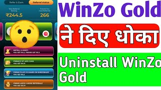 😱😱 winzo gold mod apk earn daily ₹1000 💥💥 Live proof - AK