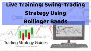 Live Training: Swing Trading Strategy Using Bollinger Bands + SAM, TSLA, DIS, LTC, & CGC