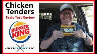 Burger King® | Crispy Chicken Tenders™ | Taste Test Review | JKMCraveTV