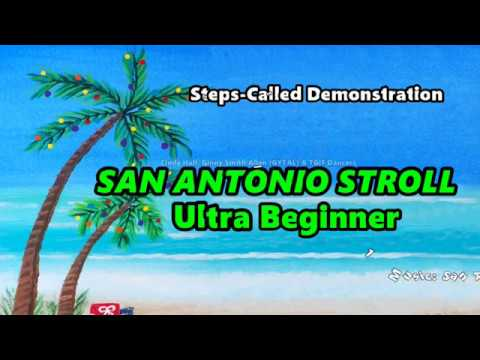 San Antonio Stroll Ultra Beginner STEPS CALLED jw
