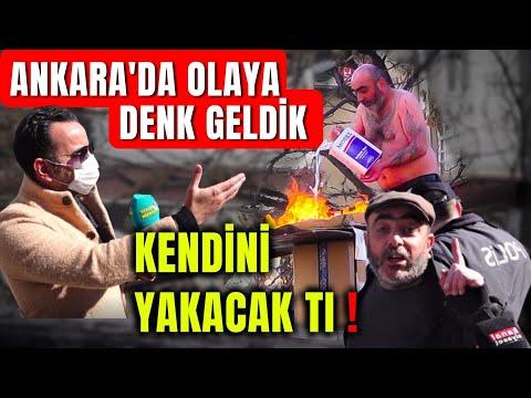 Seyyar Satıcı İSYANI ve Vatandaşın Görüşleri...Ankara'da Röportaj Esnasında Yaşananlar !
