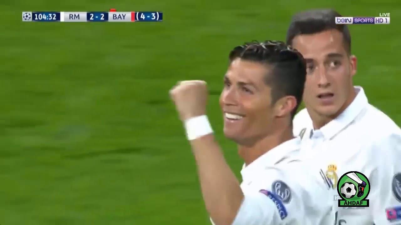 ريال مدريد بايرن ميونخ 6 3