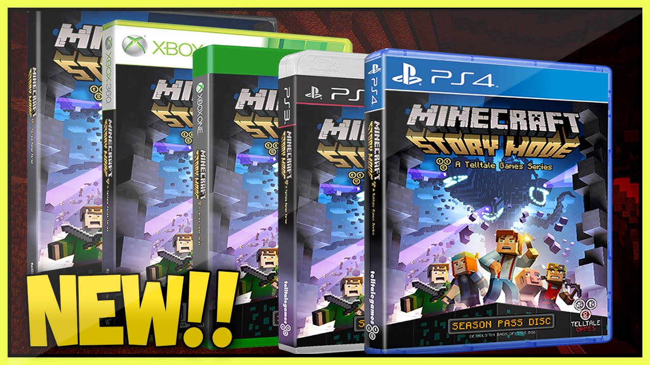 (NEW!!) Minecraft Story mode Cover, Release Date +  More!(Xbox360/XboxOne/Ps3/Ps4)