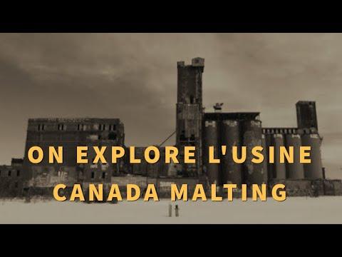 Exploration de l'usine Canada Malting(ENFIN!!!)