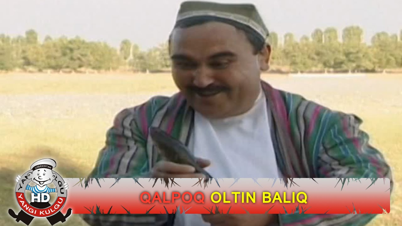 Qalpoq - Oltin baliq | Калпок - Олтин балик (hajviy ko'rsatuv)