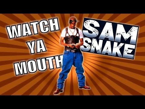 2Pac - Watch Ya Mouth ▽ {Sam Snake Remix} HD 2016