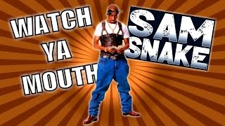 2Pac - Watch Ya Mouth ▽ {Sam Snake Remix} HD 2016