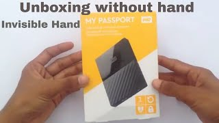 WD 1TB HardDrive Unboxing in india (In Hindi)