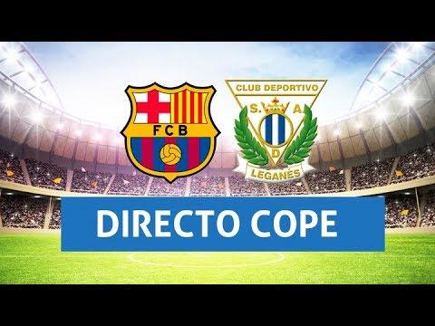 (SOLO AUDIO) Directo del Barcelona 3-1 Leganés en Tiempo de Juego