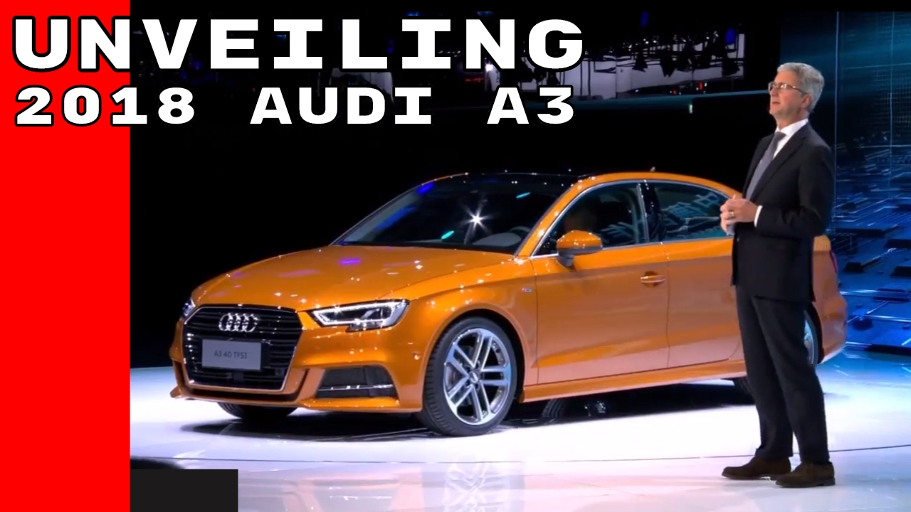 2018 Audi A3 Unveiling At Shanghai - YouTube