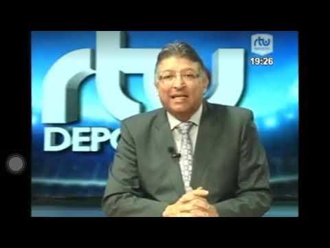 RTU Noticias Festejos de Hinchas de Liga en Plaza Indoamerica Diciembre 2018