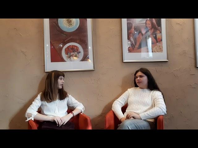 Бурова Александра журналист Виктория Жигулина