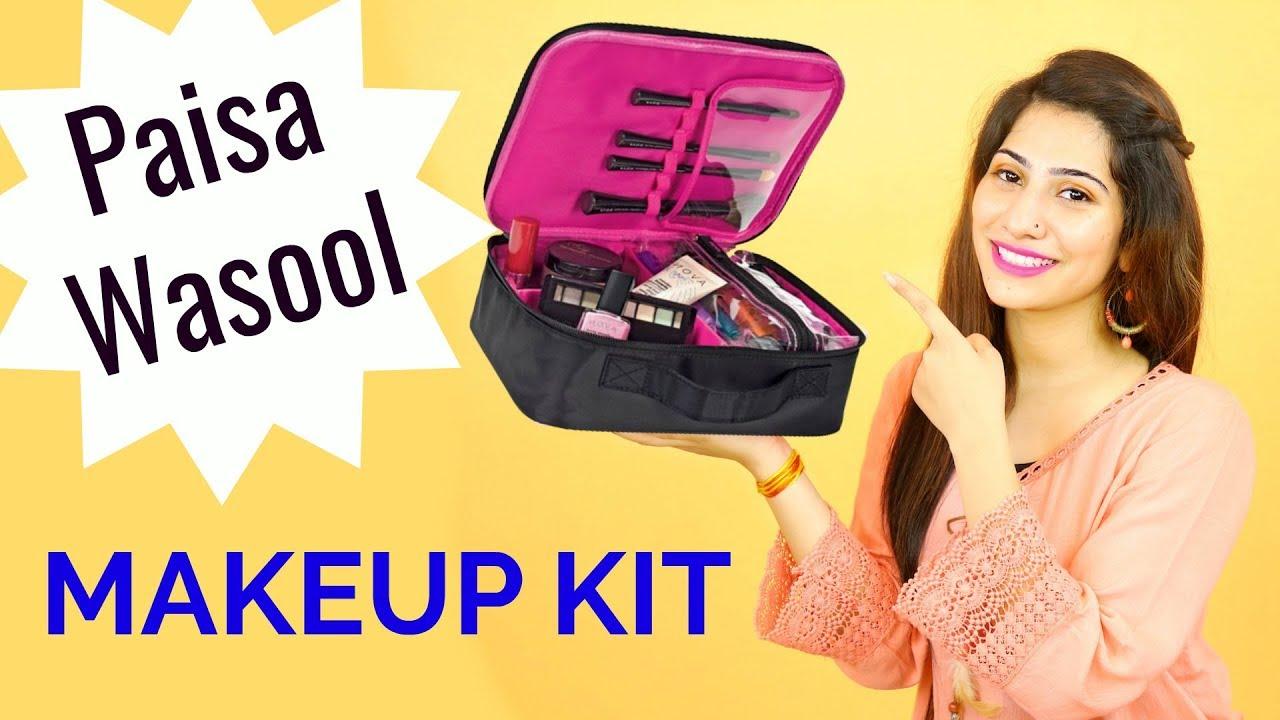 Beginners Friendly Makeup Kit   100% Paisa Wasool Products   Anaysa -  YouTube