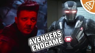 The 13 Details Hidden in the Avengers Endgame Super Bowl Spot Nerdist News w Hector Navarro
