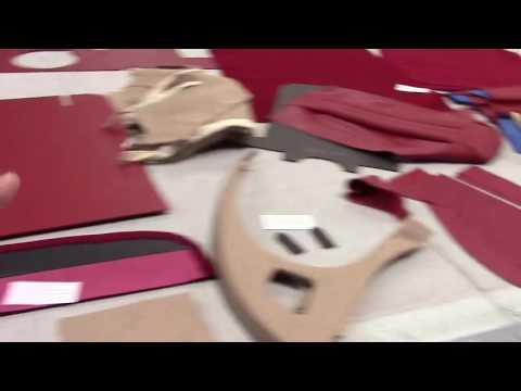 Jaguar XK 120 FHC Upholstery / Trim
