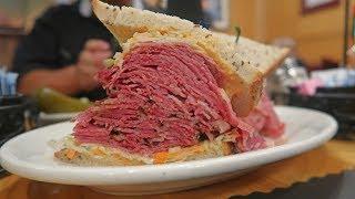 Is Katz's New York's BEST Deli Sandwich ? Food Challenge !