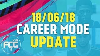 18/06/18 FIFA 18 Career Mode Update (World Cup Face Scans in Career Mode)