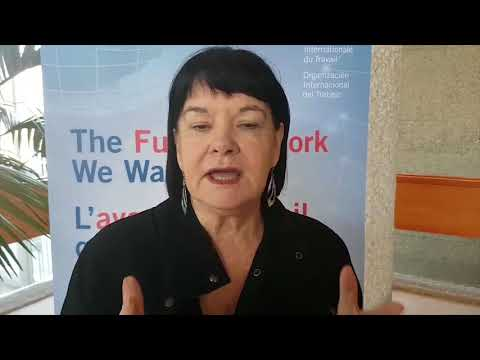 Future of Work: Interview with Sharan Burrow, ITUC