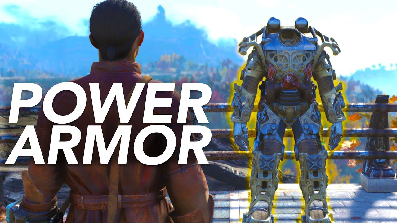 How To Get Power Armor Quickly In Fallout 76 - YouTube