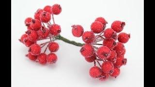 Зачем платить больше? Сахарные ягодки из ненужных бусин без капли клея!