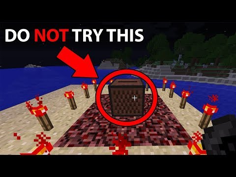 Why you should NEVER do The Disc 11 Ritual in Minecraft (Scary Minecraft Challenge)