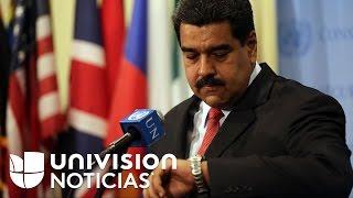 """El Parlamento de Venezuela declara el """"abandono de cargo"""" del presidente Nicolás Maduro"""