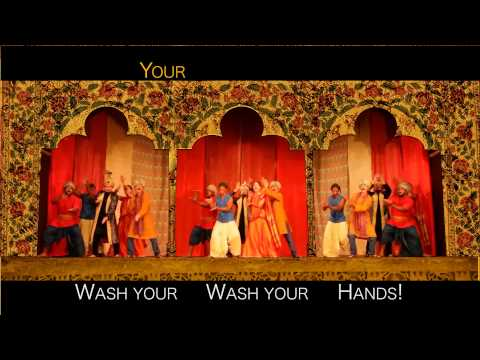 """Wash Your Hands Bollywood Style"" - Music Video"