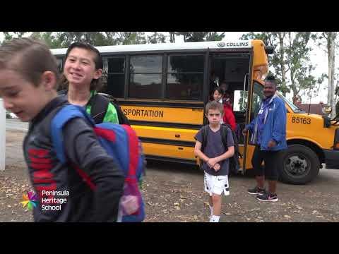 Peninsula Heritage School  Bus Service