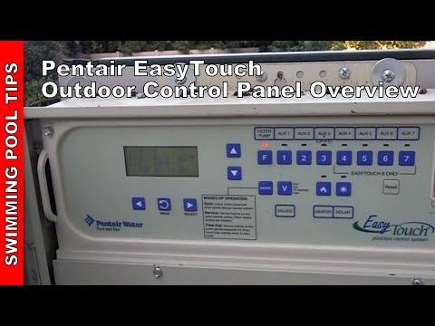 EasyTouch® Pool and Spa Control Outdoor Panel Overview