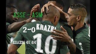 AS Saint-Etienne - AS Monaco 2-0 Le résumé