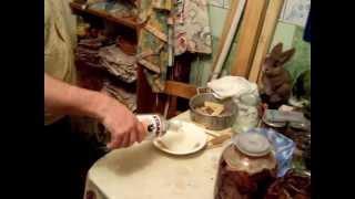 Длительное хранение грибов в квартире часть 2