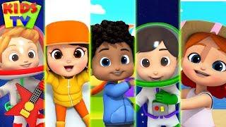 Five Little Boom Buddies + More Baby Song & Kids Nursery Rhymes