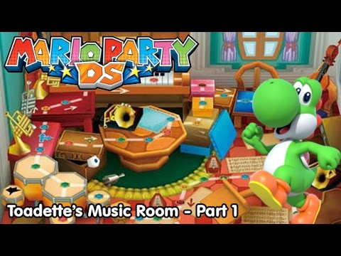 Mario Party DS! Toadette's Music Room - Part 1