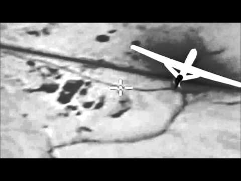 Russian Air Force in Syria use several drones to perform intelligence missions and control airspace