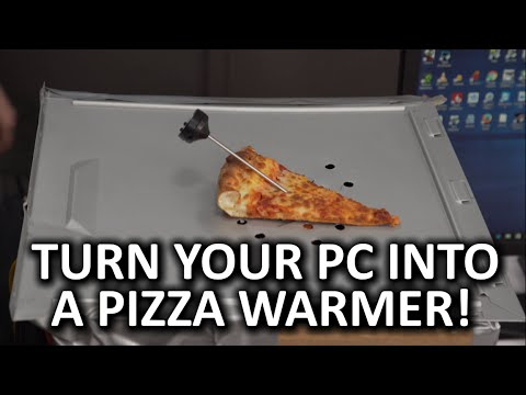 Gaming PC & Pizza Warming Platform Prototype Construction